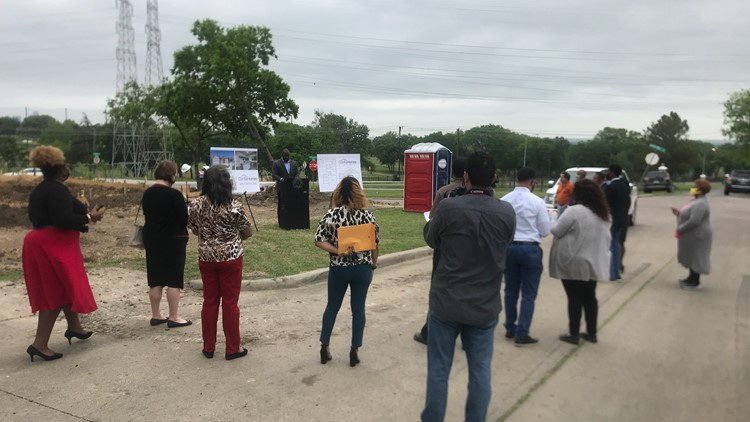 Developer breaks ground on new affordable home project in Cedar Crest