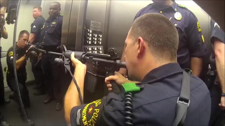 'We're in a kill zone': Exclusive new video shows deadly Dallas ambush 5 years later