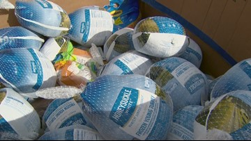 Fort Worth food bank in need of 500 turkeys to feed hungry families on Thanksgiving