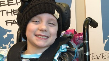 6-year-old girl battles aggressive brain cancer with proton therapy