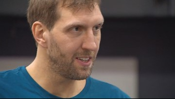 'Signing off': Dirk Nowitzki says 'it's not a goodbye' after giving last interview as a Mavs player