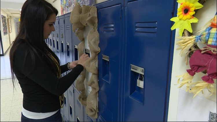 Williams at emotional locker