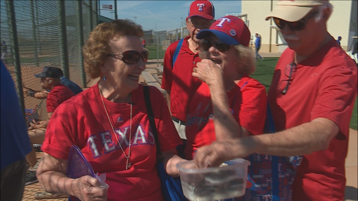 Beloved Rangers superfan Shirley Kost, better known as the 'Cookie Lady,' dies