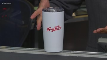 What's up with Greg's cup? The American Heart Association