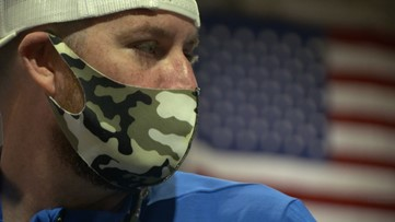 Marine veteran in cancer fight gets help from his 'tribe'