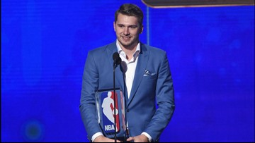 Dallas Mavericks' Luka Doncic wins Rookie of the Year