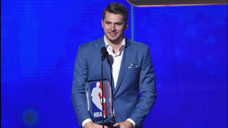 Dallas Mavericks' Luka Doncic wins Rookie of the Year