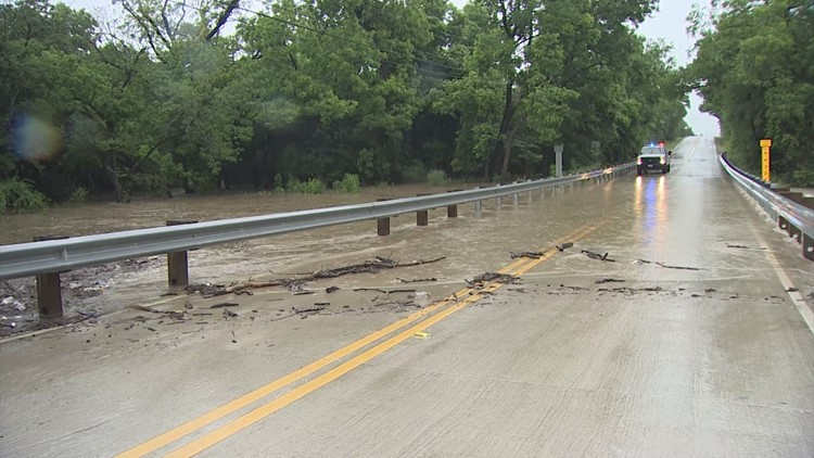 Southlake bridge floods due to heavy rains
