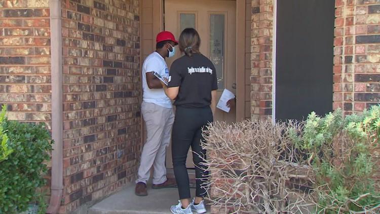 Dallas County workers, volunteers going door-to-door in COVID-19 vaccination effort