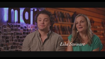 Shaping: DFW - Lila and Jeremy Stewart