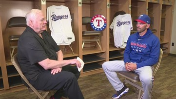 Dale Hansen sits down with Chris Woodward of the Texas Rangers