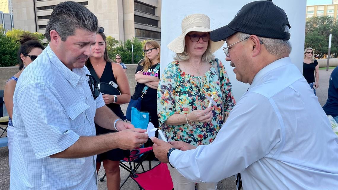 Vigil honors fallen officers on fifth anniversary of July 7 Dallas ambush