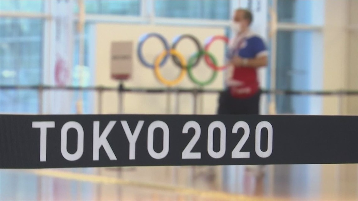 Multiple athletes test positive for COVID-19 just days ahead of start of Olympic Games