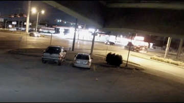 Garland police release video of deadly crash in search for driver that fled the scene