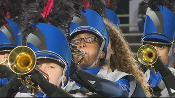 She lost her sight when she was 12. Now she's a blind trumpeter in the biggest marching band in the U.S.