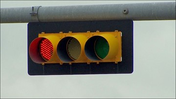 Intersections with red light cameras 'likely to be among most dangerous,' study says