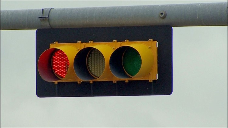Intersections with red light cameras 'likely to be among