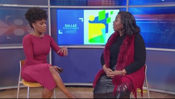 Frances Cudjoe Waters joins WFAA to discuss the African American Renaissance