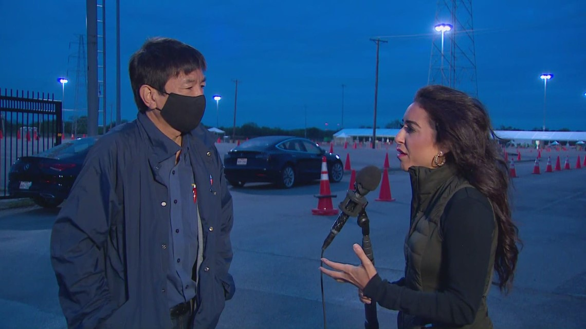 Dr. Philip Huang explains how the pause of Johnson & Johnson vaccine is impacting Fair Park site