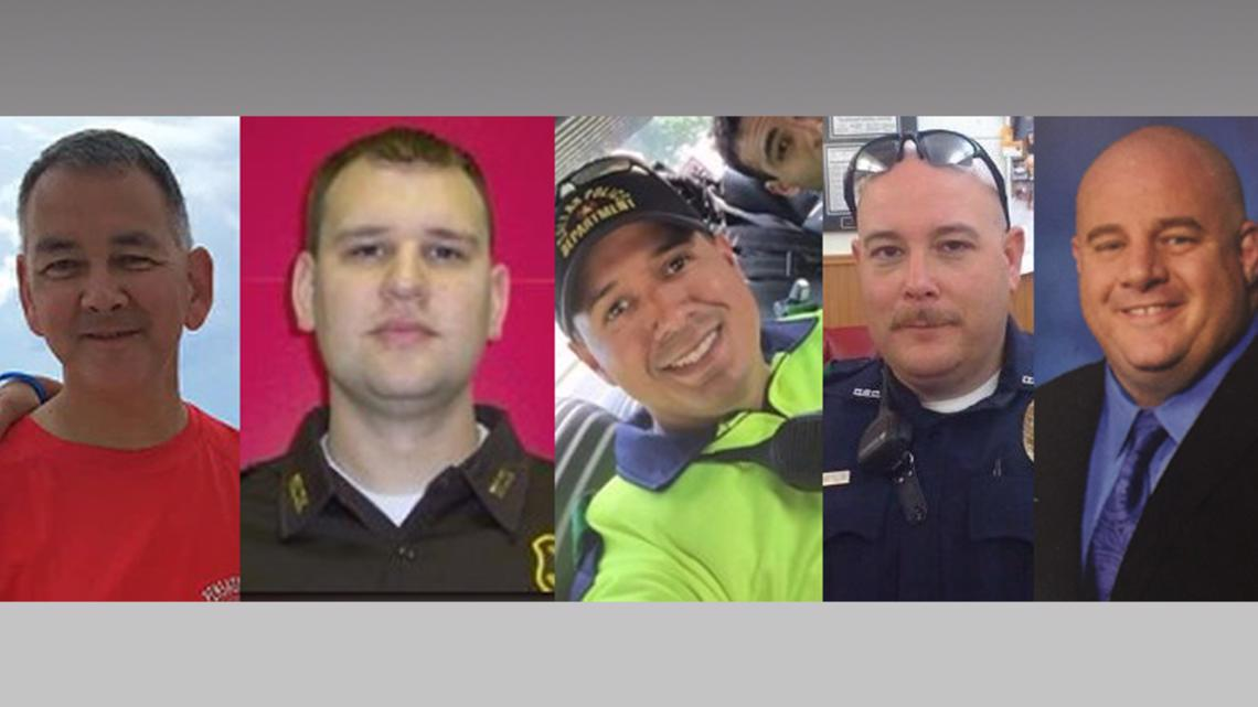 Remembering the officers killed in July 7 ambush in Dallas
