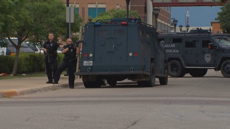 No suspect found after SWAT search of DPD headquarters