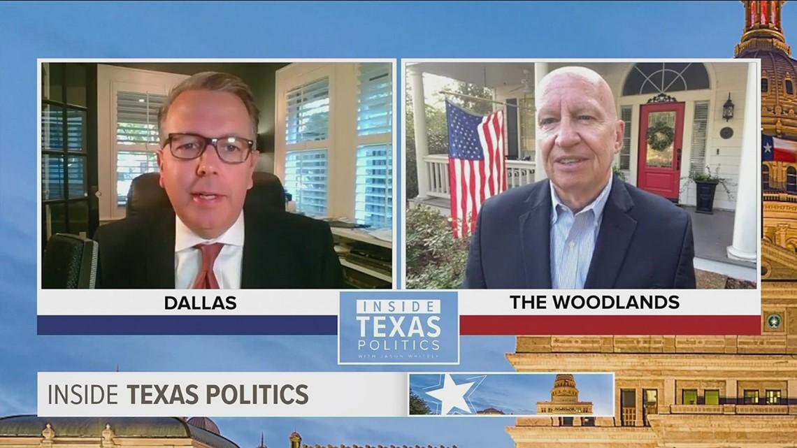 Inside Texas Politics: Texas Republican opposing Democrats' infrastructure plan