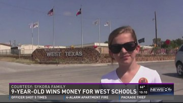 Student's winning recipe means cash for West schools
