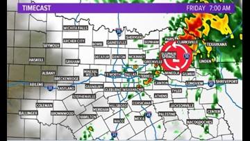 Dallas Metro Interactive Radar On Wfaa