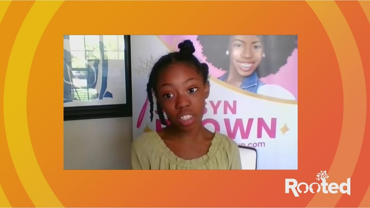 Rooted: 9-year-old girl encouraging youth to celebrate their crowns
