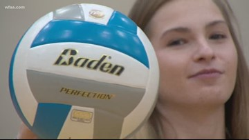North Texas volleyball player is setting records in Trophy Club