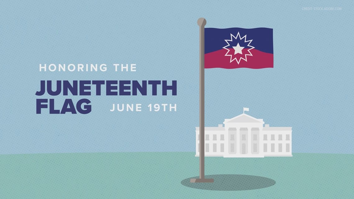 Explaining the meaning behind the Juneteenth flag