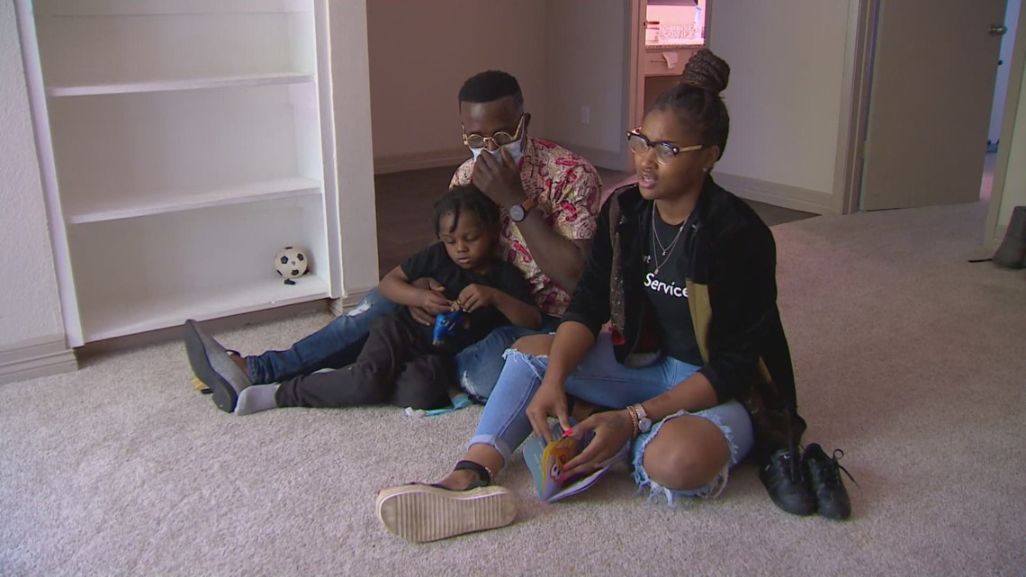 Single mother mistakenly evicted from Dallas apartment is grateful for help, thanks supporters