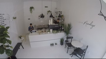 Teeny-tiny, Instagrammable coffee shop opens in Dallas