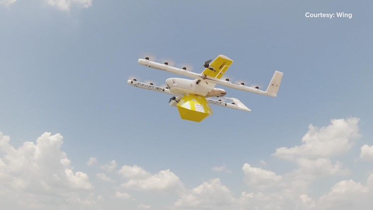 Drone delivery services take flight in Frisco, Little Elm