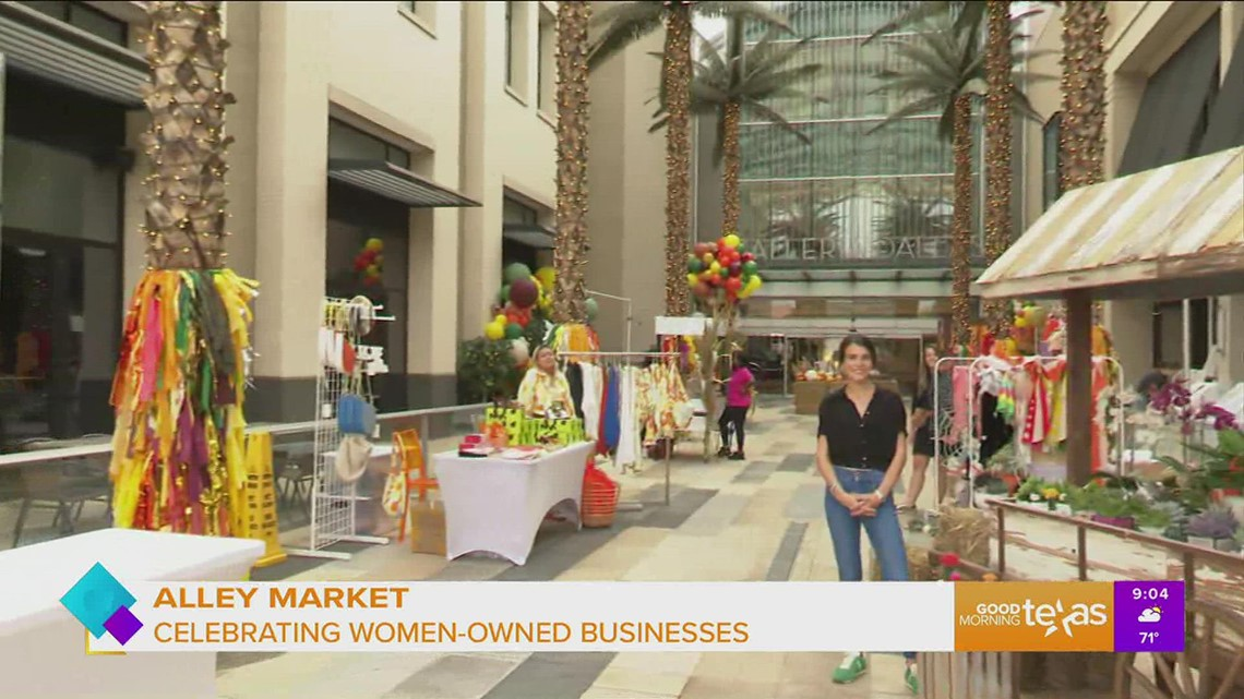 Alley Market at Galleria Dallas celebrates women owned businesses