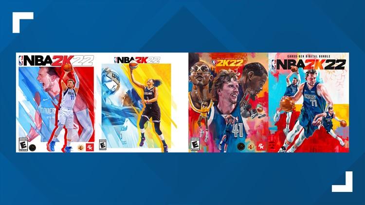 'NBA 2K22' developer announces Candace Parker, Luka Dončić, Dirk Nowitzki as cover stars