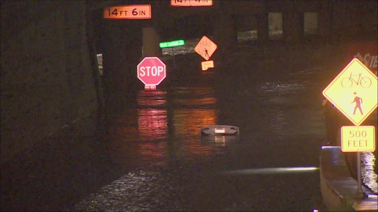 Tips: What to do if you find yourself in a sinking vehicle during severe weather, flooding