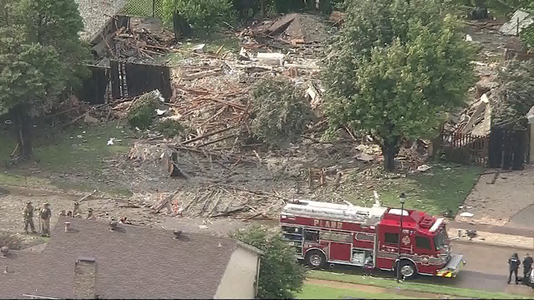 Update: Investigators believe 'isolated gas leak' cause of Plano home explosion that hospitalized 6 people