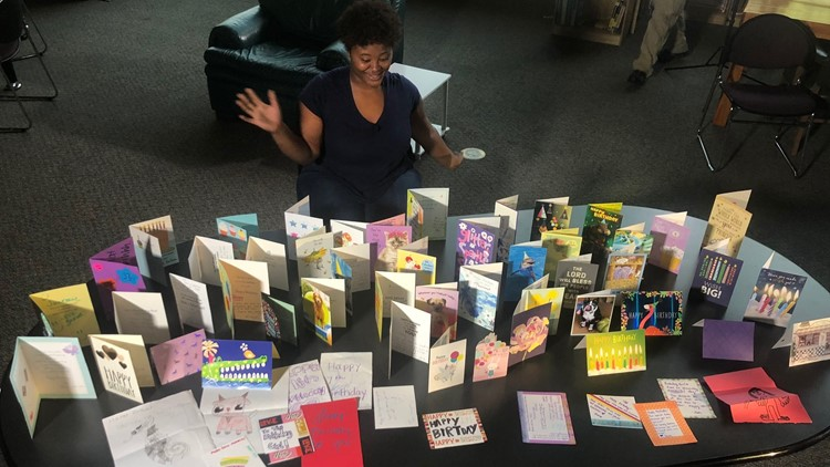 Teen in foster care receives 71 birthday carsd