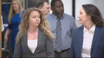 Former police officer Amber Guyger appears in court