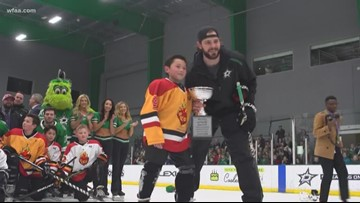 Stars grant 10-year old heart surgery survivor the perfect wish