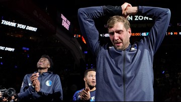 Dirk Nowitzki caps off 21-year career with 20 points in final NBA game