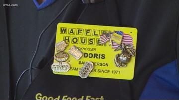 Waffle House wonder: North Texas woman nearing 50 years serving breakfast
