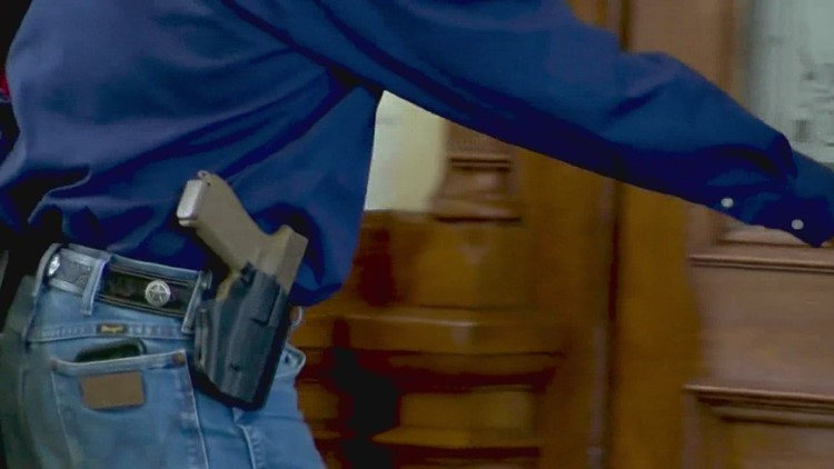 Texans can carry handguns without license or training starting Sept. 1