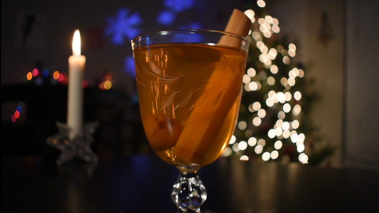 Hispanic Holidays: Tired of egg nog? This Mexican Christmas punch with a splash of Tequila can spice things up