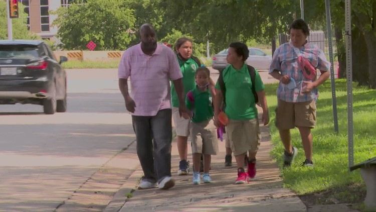 Fort Worth father of 5 gets unimaginable gift just in time for Father's Day