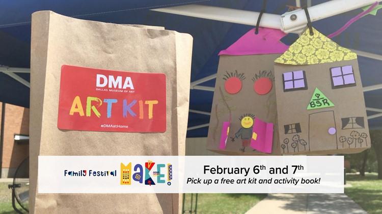 Dallas Museum of Art: MAKE! Virtual Family Festival