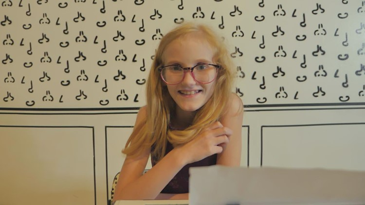 Wednesday's Child, 11-year-old Hope dreams of being adopted by loving and nurturing parents