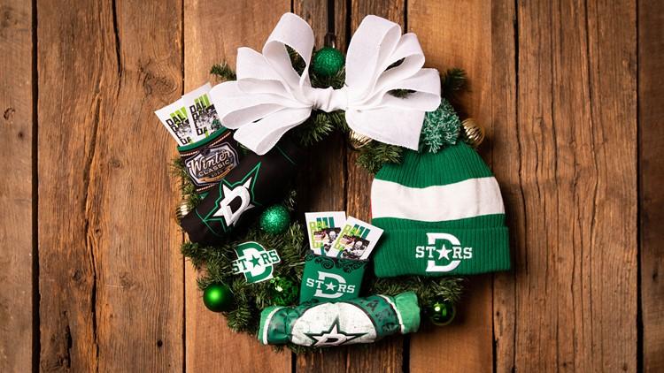 Dallas Stars Wreath