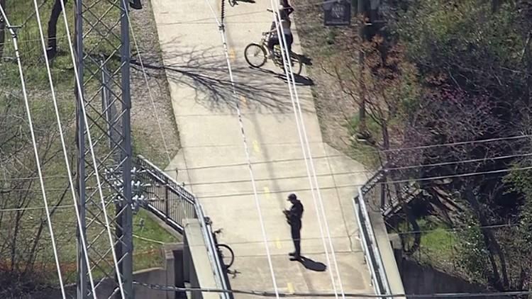 Katy Trail closure during standoff in Dallas
